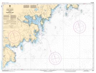 CAPE LAHAVE TO/A LIVERPOOL BAY (4211) by Canadian Hydrographic Service