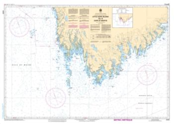 LITTLE HOPE ISLAND TO/A CAPE ST. MARYS (4230) by Canadian Hydrographic Service