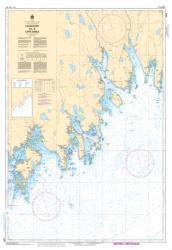 LOCKEPORT TO/A CAPE SABLE (4241) by Canadian Hydrographic Service