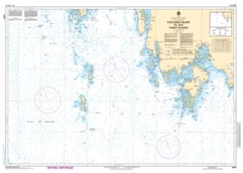 CAPE SABLE ISLAND TO/AUX TUSKET ISLANDS (4242) by Canadian Hydrographic Service