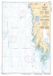 TUSKET ISLANDS TO/A CAPE ST. MARYS (4243) by Canadian Hydrographic Service