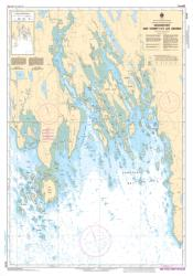 WEDGEPORT AND VICINITY/ET LES ABORDS (4244) by Canadian Hydrographic Service