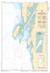 YARMOUTH HARBOUR AND APPROACHES/ET LES APPROCHES (4245) by Canadian Hydrographic Service
