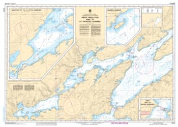 GREAT BRAS D'OR AND/ET ST. PATRICKS CHANNEL (4278) by Canadian Hydrographic Service
