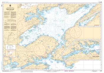 BRAS D'OR LAKE (4279) by Canadian Hydrographic Service