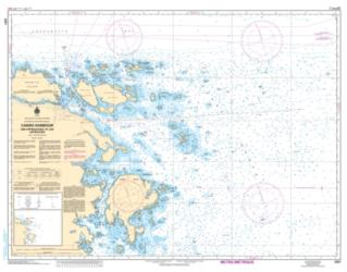 CANSO HARBOUR AND APPROACHES/ET LES APPROCHES (4281) by Canadian Hydrographic Service
