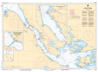 STRAIT OF CANSO AND SOUTHERN APPROACHES/ET LES APPROCHES SUD (4302) by Canadian Hydrographic Service
