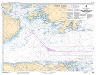CANSO HARBOUR TO/AU STRAIT OF CANSO (4307) by Canadian Hydrographic Service