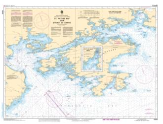 ST. PETERS BAY TO/A STRAIT OF CANSO (4308) by Canadian Hydrographic Service