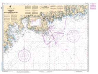 EGG ISLAND TO/A WEST IRONBOUND ISLAND (4320) by Canadian Hydrographic Service