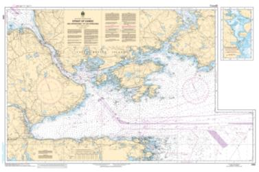 STRAIT OF CANSO AND APPROACHES/ET LES APPROCHES (4335) by Canadian Hydrographic Service