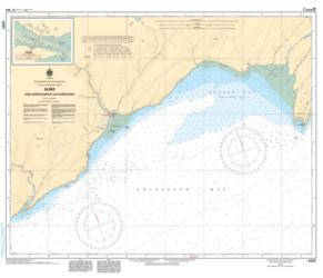 ALMA (AND APPROACHES/ET LES APPROCHES) (4337) by Canadian Hydrographic Service