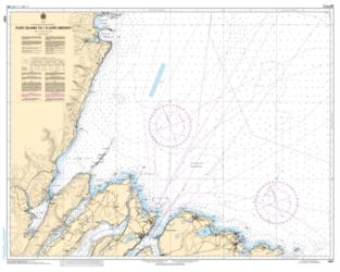 FLINT ISLAND TO/A CAPE SMOKEY (4367) by Canadian Hydrographic Service