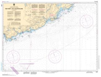 RED POINT TO/A GUYON ISLAND (4374) by Canadian Hydrographic Service