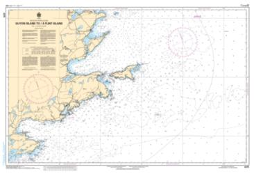 GUYON ISLAND TO/A FLINT ISLAND (4375) by Canadian Hydrographic Service
