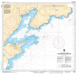 LOUISBOURG HARBOUR (4376) by Canadian Hydrographic Service