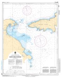 MAIN-A-DIEU PASSAGE (4377) by Canadian Hydrographic Service