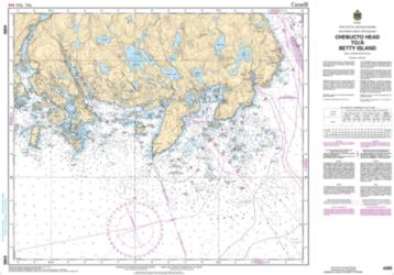 CHEBUCTO HEAD TO/A BETTY ISLAND (4385) by Canadian Hydrographic Service
