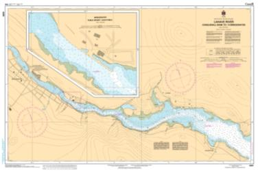 LAHAVE RIVER - CONQUERALL BANK TO BRIDGEWATER (4391) by Canadian Hydrographic Service