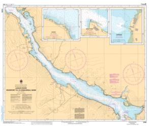 LAHAVE RIVER - RIVERPORT TO/A CONQUERALL BANK (4395) by Canadian Hydrographic Service