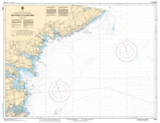 EAST POINT TO/A CAPE BEAR (4403) by Canadian Hydrographic Service