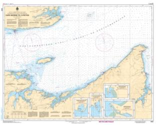 CAPE GEORGE TO/A PICTOU (4404) by Canadian Hydrographic Service