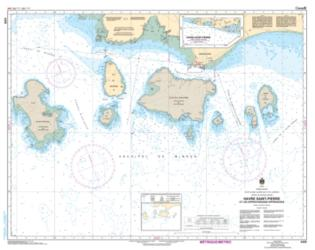 HAVRE SAINT-PIERRE ET LES APPROCHES/AND APPROACHES (4429) by Canadian Hydrographic Service