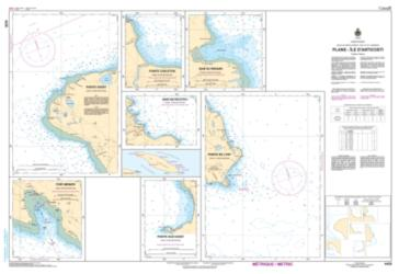 PLANS - ILE D'ANTICOSTI (4430) by Canadian Hydrographic Service