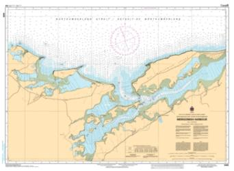 MERIGOMISH HARBOUR (4445) by Canadian Hydrographic Service
