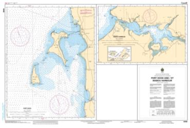 PORT HOOD, MABOU HARBOUR AND HAVRE BOUCHER (4448) by Canadian Hydrographic Service