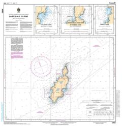ST. PAUL ISLAND (4450) by Canadian Hydrographic Service
