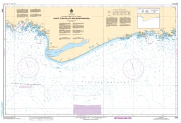 POINTE CURLEW A/TO BAIE WASHTAWOUKA (4454) by Canadian Hydrographic Service
