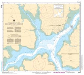 CHARLOTTETOWN HARBOUR (4460) by Canadian Hydrographic Service