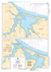 RUSTICO BAY AND/ET NEW LONDON BAY (4467) by Canadian Hydrographic Service