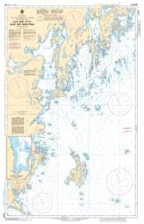 ILES BUN A/TO BAIE DES MOUTONS (4474) by Canadian Hydrographic Service