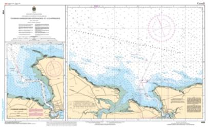 PUGWASH HARBOUR AND APPROACHES/ET LES APPROCHES (4498) by Canadian Hydrographic Service