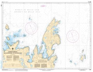 QUIRPON HARBOUR AND APPROACHES/ET LES APPROCHES (4512) by Canadian Hydrographic Service