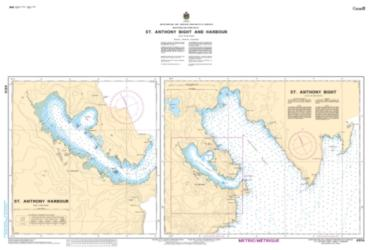 ST. ANTHONY BIGHT AND HARBOUR (4514) by Canadian Hydrographic Service