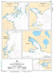 HARBOURS IN / HAVRES DANS HARE BAY (4516) by Canadian Hydrographic Service