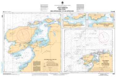FOGO HARBOUR SEAL COVE AND APPROACHES/ET LES APPROCHES (4529) by Canadian Hydrographic Service