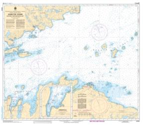 HAMILTON SOUND, EASTERN PORTION / PARTIE EST (4530) by Canadian Hydrographic Service