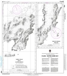 PLANS IN NOTRE DAME BAY (4582) by Canadian Hydrographic Service
