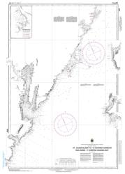 ST. JULIEN ISLAND TO/A HOOPING HARBOUR INCLUDING/Y COMPRIS CANADA BAY (4583) by Canadian Hydrographic Service