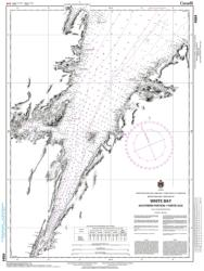 WHITE BAY - SOUTHERN PART / PARTIE SUD (4584) by Canadian Hydrographic Service