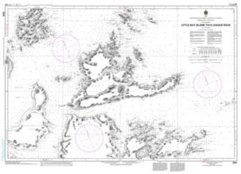 LITTLE BAY ISLAND TO/A LEAGUE ROCK (4592) by Canadian Hydrographic Service