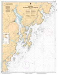 BURIN HARBOURS AND APPROACHES / ET LES APPROCHES (4616) by Canadian Hydrographic Service