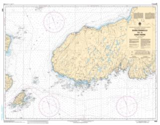 BURIN PENINSULA TO/A SAINT-PIERRE (4625) by Canadian Hydrographic Service