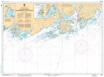 ISLE AUX MORTS AND APPROACHES/ET LES APPROCHES (4640) by Canadian Hydrographic Service
