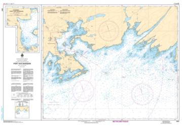 PORT AUX BASQUES AND APPROACHES/ET LES APPROCHES (4641) by Canadian Hydrographic Service