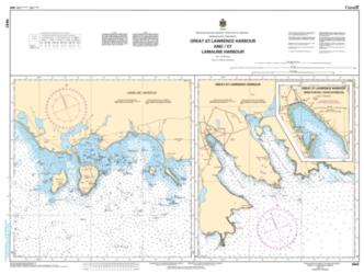 GREAT ST. LAWRENCE HARBOUR AND/ET LAMALINE HARBOUR (4642) by Canadian Hydrographic Service